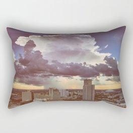 mushroom cloud Rectangular Pillow