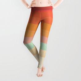 Rainbow Chevrons II Leggings