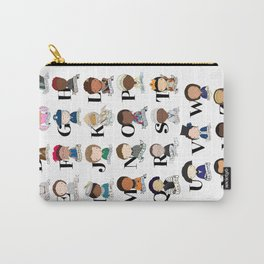 G is for Girl Power Carry-All Pouch
