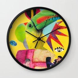 Dumb Lurid Wall Clock