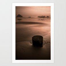 bandon beach. Art Print