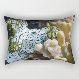 Gray Norse God Nudibranch Rectangular Pillow