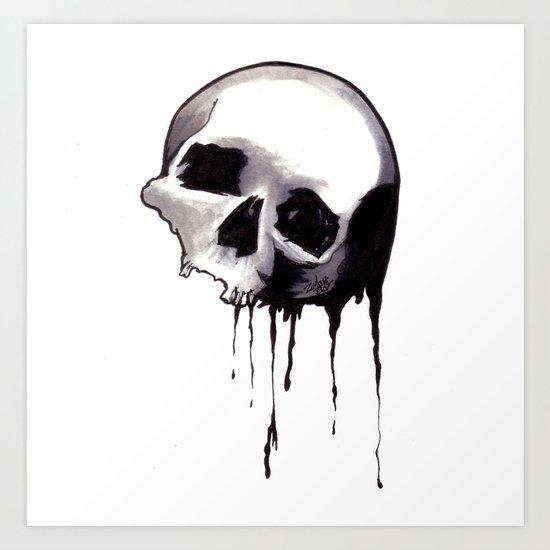 Bones VIII Art Print