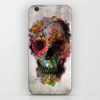 arya stark iPhone & iPod Skins featuring SKULL 2 by Ali GULEC