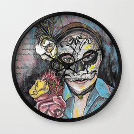 Day of the Dead 1 Wall Clock