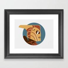 Headgear: Rocketeer Framed Art Print