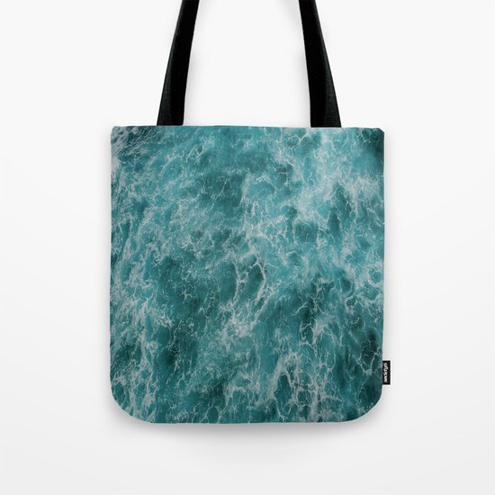 faded waves Tote Bag