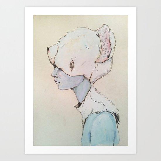 Portrait E Art Print