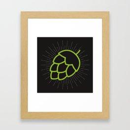 Me So Hoppy Framed Art Print