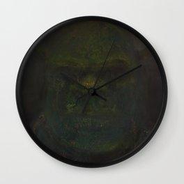 Shrek (oil on canvas) Wall Clock