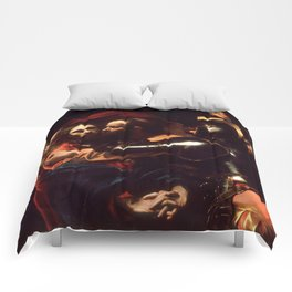 The Taking of Christ by Caravaggio (1602) Comforters
