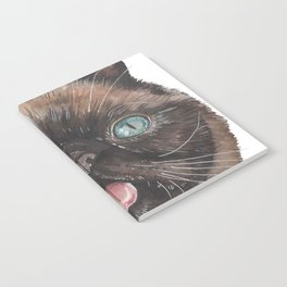 Der the Cat - artist Ellie Hoult Notebook