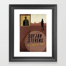 Sufjan Stevens Framed Art Print