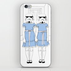 Grady twins troopers iPhone & iPod Skin