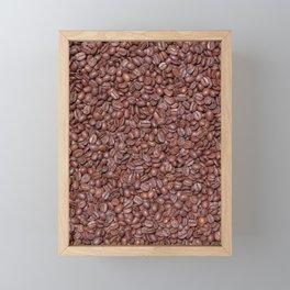 Roasted Coffee Beans (Photography) Framed Mini Art Print