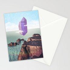 Purple trance Stationery Cards