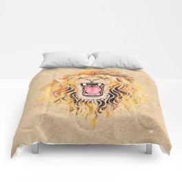 Swirly Lion Comforters