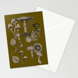 Forest Floor Fall Stationery Cards