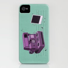 Shake It Like A Polaroid Picture Slim Case iPhone (4, 4s)