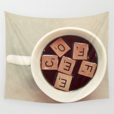 COFFEE Wall Tapestry