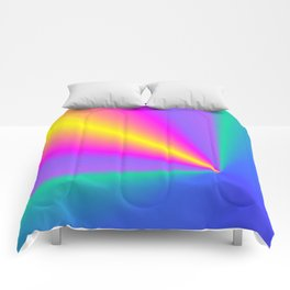 Conical Colors Comforters