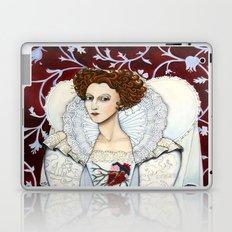 Elizabeth, the Virgin Queen, Queen of Hearts Laptop & iPad Skin