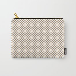 Iced Coffee Polka Dots Carry-All Pouch