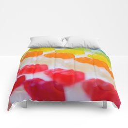 Gummy Bears Rainbow Comforters
