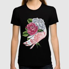 Cold Dead Black Womens Fitted Tee LARGE
