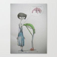 eureka ! Canvas Print