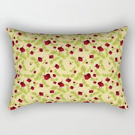 Butter Beauty and the Beets Rectangular Pillow
