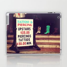 Tattoo & Piercing Laptop & iPad Skin