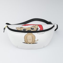 Funny Christmas Chihuahua product - perfect present Fanny Pack