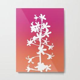 Native Orchid Metal Print