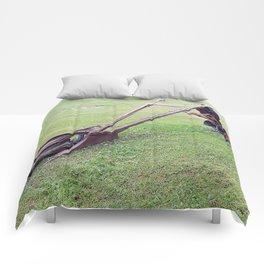 Antique Farm Plows Comforters