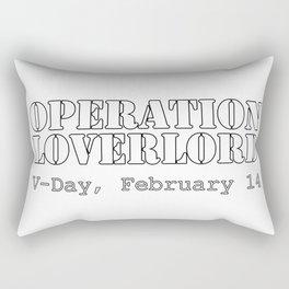 Operation Loverlord Rectangular Pillow