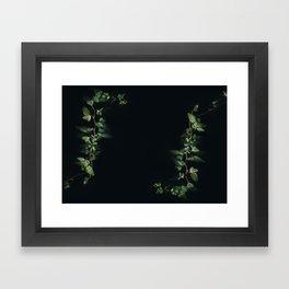 growth inside the dark Framed Art Print