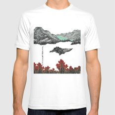 Spring of WuShe MEDIUM White Mens Fitted Tee