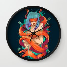 Blinded By Truth Wall Clock