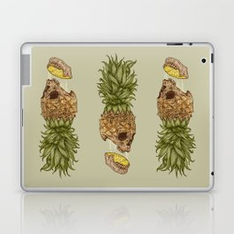 Pineapple Skull Laptop & iPad Skin