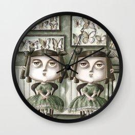 Erma and Dulcibelle Moffatt Wall Clock
