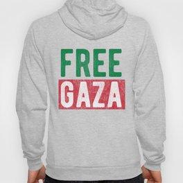 Free Gaza Palestine Hoody
