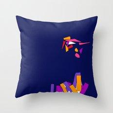 Fragmentation 3 Throw Pillow