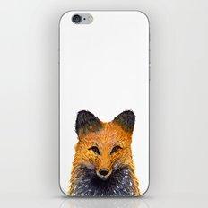 Merry Foxmas! iPhone & iPod Skin