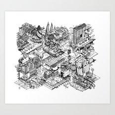 ARUP Fantasy Architecture Art Print