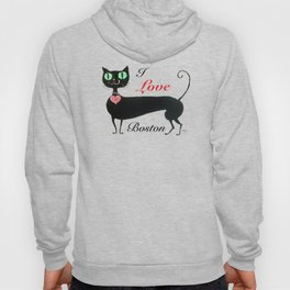Boston Cat Hoody