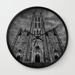 Eerie Skys Wall Clock
