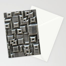 Textured Space Tiles Stationery Cards
