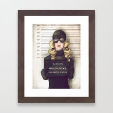 Goldilocks Framed Art Print