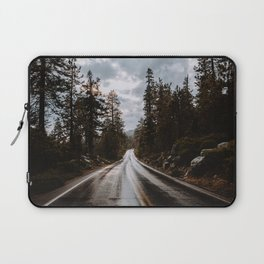 Rainy Day Adventures in the Forest Laptop Sleeve